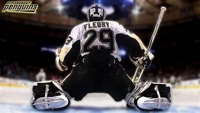 Andre Fleury Marc Pittsburgh Penguins Goalie Wallpapers