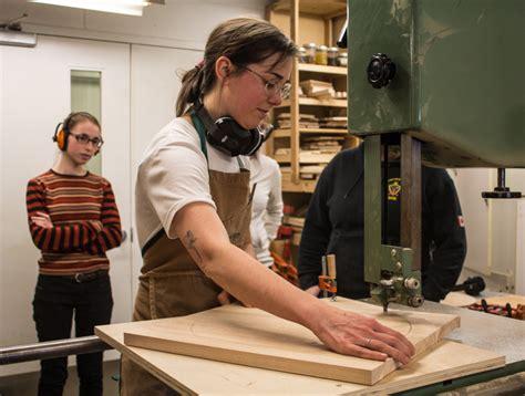 woodworking  creates environment women  identify
