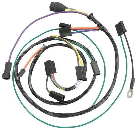 57 Jaguar Wiring Harnes by Heater Wiring Harness W Gas Heater 1960 Chevrolet Corvair