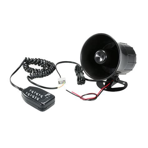 Car Motorcycle Megaphone Tone Loud Speaker Traditional