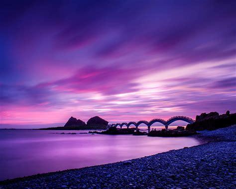 Footbridge at sanxiantai-Nature HD Wallpaper Preview ...