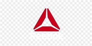 Red with White Triangles Logo - LogoDix