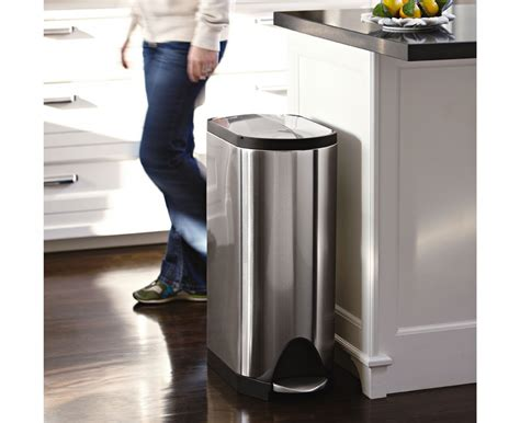 Metal Kitchen Garbage Cans Metal Dining Room Table Top Cooler Large Work Saw Casters Play And Chairs Bandsaw Changing Height Best Train Tables