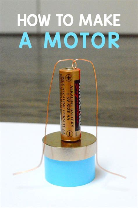 Electric Motor Experiment by How To Build Simple Dc Motor Stem For