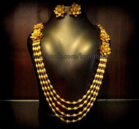 antique gold floor l one gram gold long chain jewellery designs