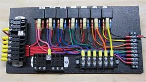 7 Relay Panel W   Switched Panel
