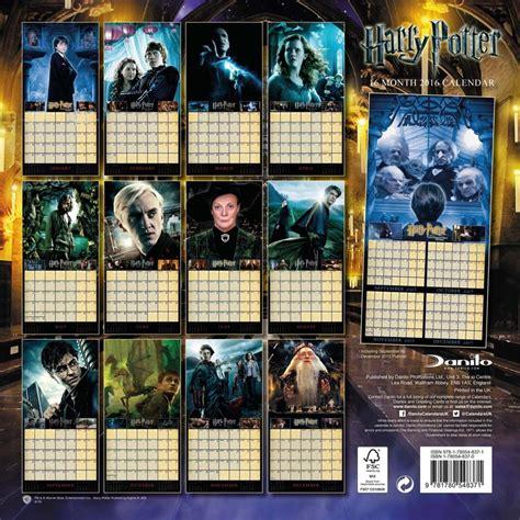 bestel een harry potter kalender op europostersnl