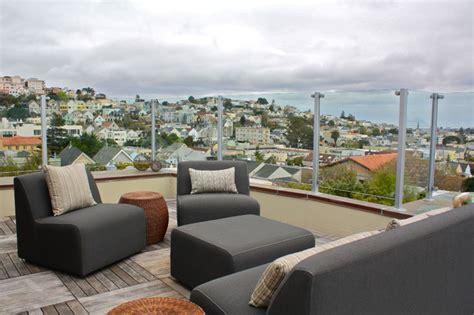 rooftop patio contemporary deck san francisco by