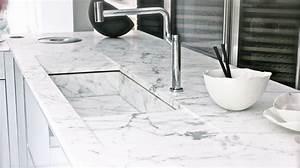Plan De Travail Effet Marbre : marbre blanc de carrare infos et devis carriere mercier ~ Preciouscoupons.com Idées de Décoration