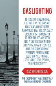 gas lighting meaning gaslighting quotes by ross rosenberg the human magnet
