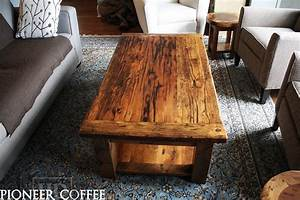 custom barnwood coffee tables blog With reclaimed pine wood coffee table