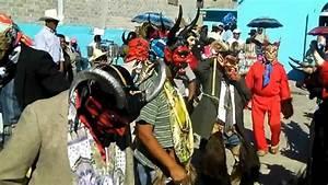 San Miguel Tlacotepec Oaxaca  Danza De Los Diablos Y De Los Chilolos 01  02  11