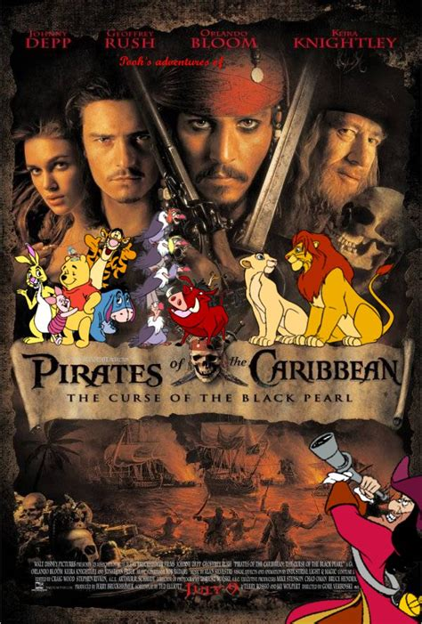 poohs adventures  pirates   caribbean  curse