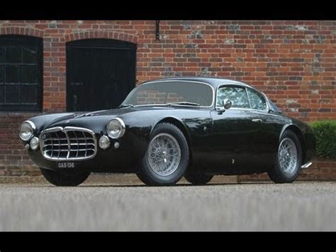 maserati a6g 2000 1955 maserati a6g 2000 berlinetta 1 650 000 sold youtube
