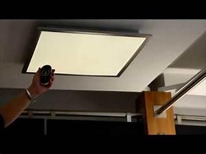 Led Deckenleuchte Einbau : licht wie man es sich gerade w nscht led deckenleuchte liv wofi mit flexibler farbtemperatur ~ Buech-reservation.com Haus und Dekorationen