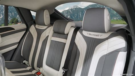 Check out top brands on ebay. 2016 MANSORY Mercedes-AMG GLE 63 Coupe - Interior, Rear Seats | HD Wallpaper #8