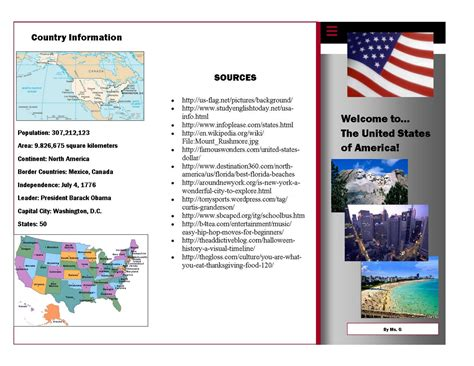 Country Brochure Template by Make A Brochure In Ms Publisher Exle Brochure Cover