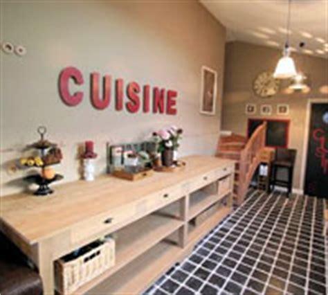 lettre decorative cuisine maison pratic boutique pour vos loisirs creatifs et