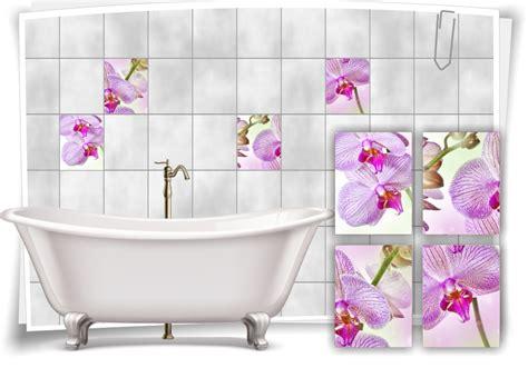 Fliesenaufkleber Orchidee by Fliesenaufkleber Fliesenbild Blumen Orchidee Wellness Spa