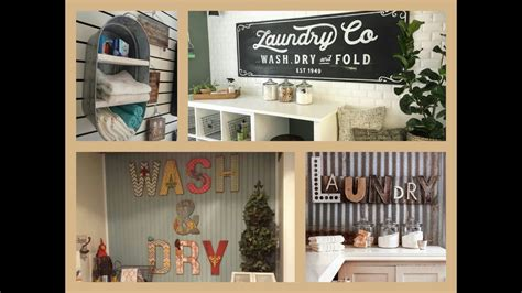laundry room decor ideas diy home decorations youtube