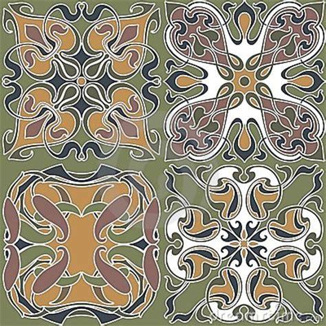 art nouveau wallpapers stock images image
