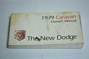 1999 Dodge Caravan Owners Manual Book
