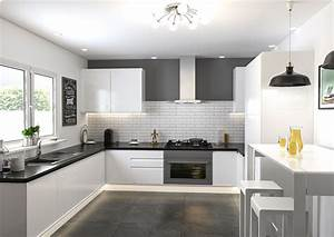 Ringmer High Gloss White Kitchen Doors Made to Measure