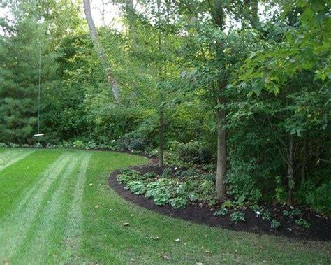 backyard edging  woods ideas google search