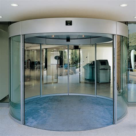 Sliding Entrance Doors by Curved