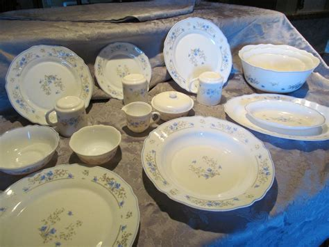 dinnerware place setting charm table extras plus arcopal pieces
