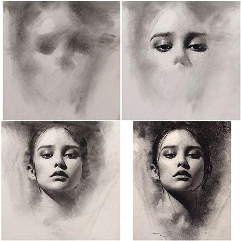 ideas  charcoal drawings  pinterest
