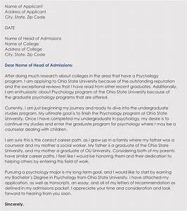 Example Of Application Form Writing A College Admission Application Letter In Correct
