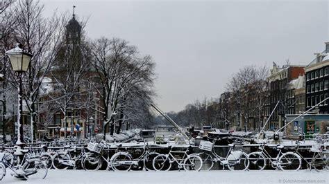 Amsterdam in the snow   DutchAmsterdam.com