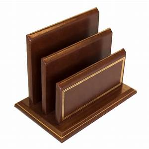 Gold tooled letter rack prestige office accessories for Gold letter rack