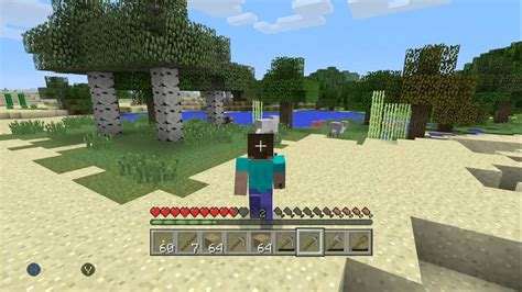 Mine Craft Xbox One Edition My First Hour Of Game Play
