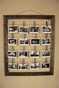 Créer Un Cadre Photo : on aime cette belle id e de cr er soi m me un cadre original pour des photos qui nous voquent ~ Melissatoandfro.com Idées de Décoration