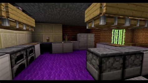 Minecraft  Moderne Küche Mit Redstone Youtube