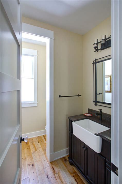 Birmingham Farm House   Farmhouse   Powder Room   detroit