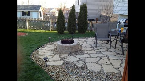 gravel patiogravel concrete patio youtube