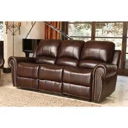bentley top grain leather reclining sofa sam s club