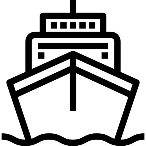 Boat Icon Png White by Ship Free Transport Icons