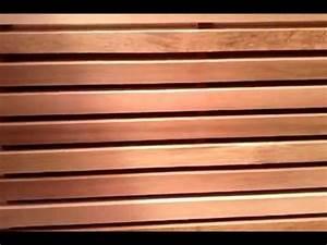 Bardage Claire Voie Horizontal : bardage red cedar pose claire voie horizontale youtube ~ Carolinahurricanesstore.com Idées de Décoration
