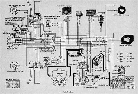 solved 1985 honda cb 700 sc nighthawk wiring diagram fixya