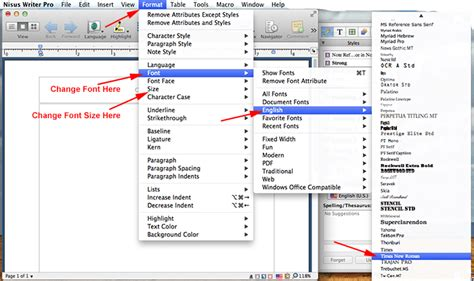 mla format using nisus writer pro mla format