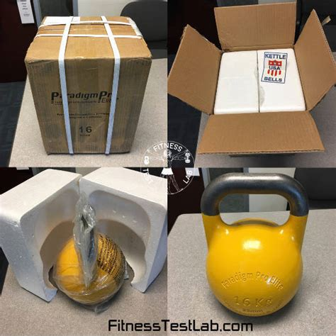paradigm elite pro usa kettlebell kettlebells 16kg precision unboxed unboxing