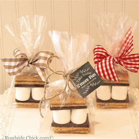 s mores party favor kit diy favor kit wedding favors cowboy party baby shower favors from