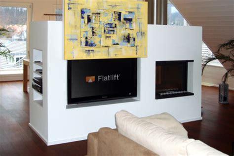 Tv In Wand Versenken by Fernseher Freistehend Im Raum Frame Tv Fernseher Als