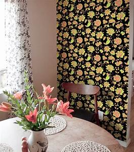 The Easiest 2 Minute Makeover with Wallpaper Tiles ...