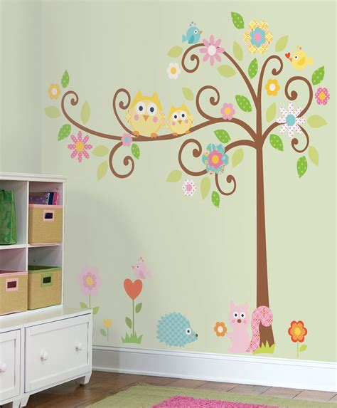 owls nursery decor colorful kids rooms