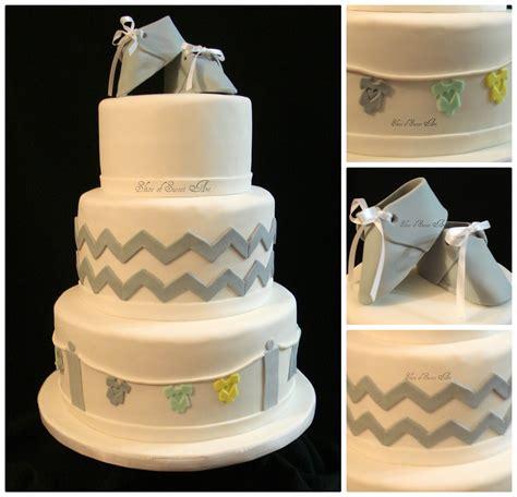 Chevron Baby Shower Cakecentralm